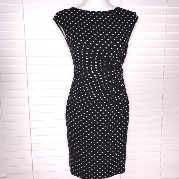 Merona Dresses & Skirts - Merona Polka Dot Knot Dress